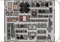 F6F-3 - Interior S.A. [HobbyBoss] · EDU 49478 ·  Eduard · 1:48