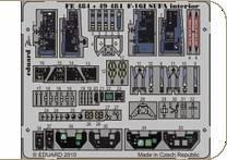 F-16l SUFA interior S.A. for Hasegawa · EDU 49484 ·  Eduard · 1:48
