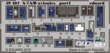 A-7A/B avionics [HobbyBoss] · EDU 49487 ·  Eduard · 1:48