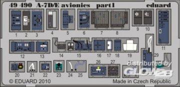 A-7D/E avionics [HobbyBoss] · EDU 49490 ·  Eduard · 1:48