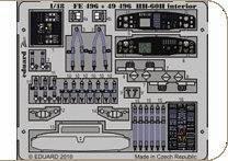 HH-60H interior S.A. for Italeri · EDU 49496 ·  Eduard · 1:48