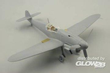 Messerschmitt Bf 109 F-2 S.A. [Zvezda] · EDU 49508 ·  Eduard · 1:48