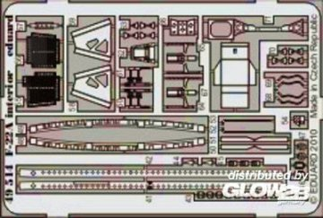 F-22A - Interior S.A. [Hasegawa] · EDU 49514 ·  Eduard · 1:48