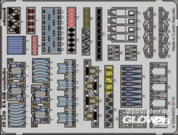 EA-6B - Seatbelts [Kinetic] · EDU 49520 ·  Eduard · 1:48