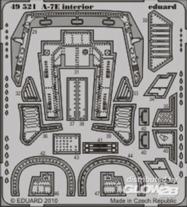 A-7E - Interior S.A. [HobbyBoss] · EDU 49521 ·  Eduard · 1:48