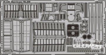 Hurricane Mk.IID S.A. [Hasegawa] · EDU 49536 ·  Eduard · 1:48