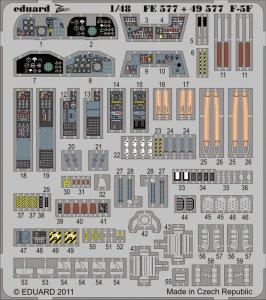 F-5F S.A. [AFV-Club] · EDU 49577 ·  Eduard · 1:48