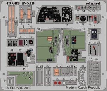 P-51 D S.A. [HobbyBoss] · EDU 49603 ·  Eduard · 1:48