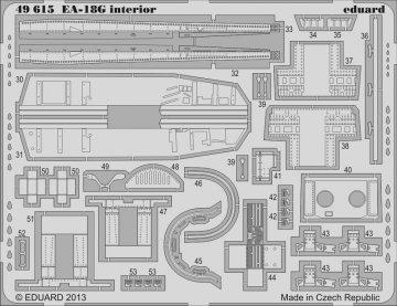 EA-18G - Interior S.A. [Italeri] · EDU 49615 ·  Eduard · 1:48