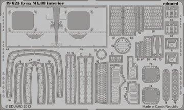 Lynx Mk.88 - Interior S.A. [Airfix] · EDU 49625 ·  Eduard · 1:48