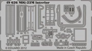 MiG-23M S.A. for Trumpeter · EDU 49626 ·  Eduard · 1:48