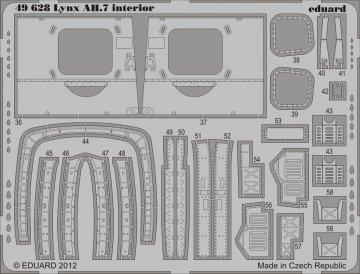 Lynx AH.7 - Interior S.A. [Airfix] · EDU 49628 ·  Eduard · 1:48