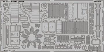 T-28D S.A. [Roden] · EDU 49633 ·  Eduard · 1:48