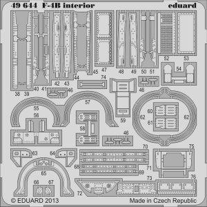 Phantom F-4B - Interior S.A. [Academy] · EDU 49644 ·  Eduard · 1:48