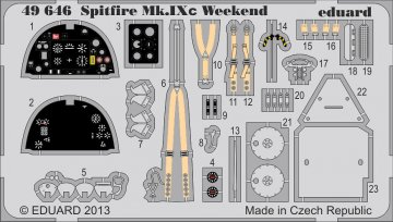 Spitfire Mk.IXc - Weekend Edition · EDU 49646 ·  Eduard · 1:48