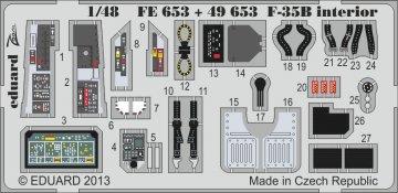 F-35B - Interior [Kitty Hawk] · EDU 49653 ·  Eduard · 1:48