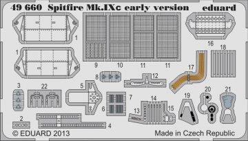 Spitfire Mk.IXc early version [Eduard] · EDU 49660 ·  Eduard · 1:48