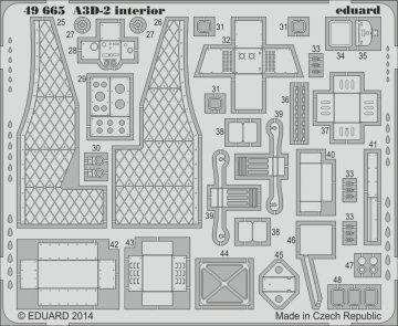 A3D-2 - Interior S.A. [Trumpeter] · EDU 49665 ·  Eduard · 1:48