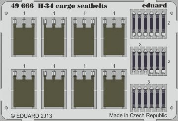 H-34 cargo - Seatbelts [Gallery Models] · EDU 49666 ·  Eduard · 1:48