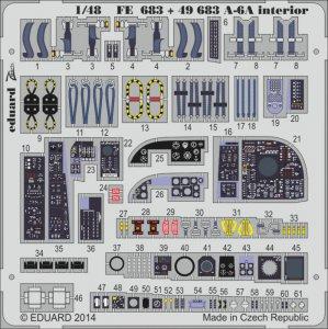 A-6A Intruder - Interior S.A. [HobbyBoss] · EDU 49683 ·  Eduard · 1:48