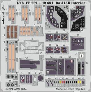 Dornier DO 215 B4 S.A. [ICM] · EDU 49691 ·  Eduard · 1:48