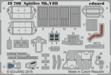 Spitfire Mk.VIII [Eduard] · EDU 49708 ·  Eduard · 1:48