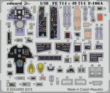 US F-106A Delta Dart S.A. [Trumpeter] · EDU 49714 ·  Eduard · 1:48
