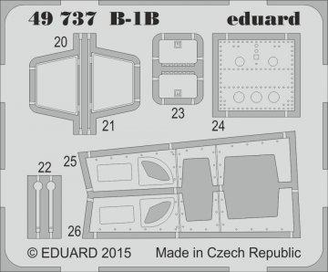 B-1B S.A. [Revell] · EDU 49737 ·  Eduard · 1:48
