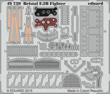 Bristol F.2B Fighter [Revell] · EDU 49739 ·  Eduard · 1:48