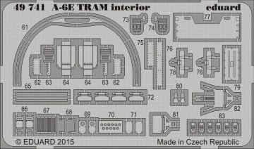 A-6E TRAM Intruder - Interior [HobbyBoss] · EDU 49741 ·  Eduard · 1:48