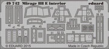 Mirage III E [Kinetic] · EDU 49742 ·  Eduard · 1:48