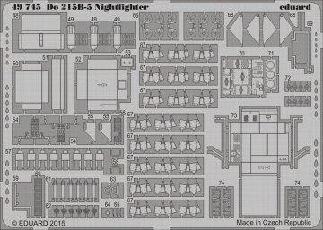 Dornier Do 215 B-5 Nightfighter [ICM] · EDU 49745 ·  Eduard · 1:48