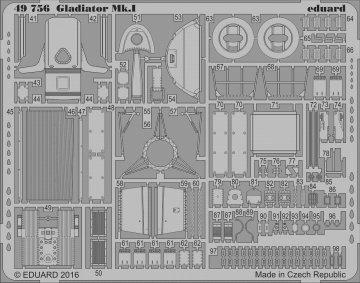Gladiator Mk.I [Merit] · EDU 49756 ·  Eduard · 1:48
