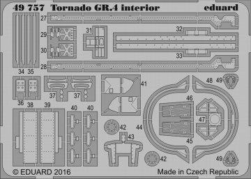 Tornado GR.4 - Interior [Revell] · EDU 49757 ·  Eduard · 1:48