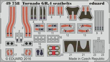 Tornado GR.4 - Seatbelts [Revell] · EDU 49758 ·  Eduard · 1:48