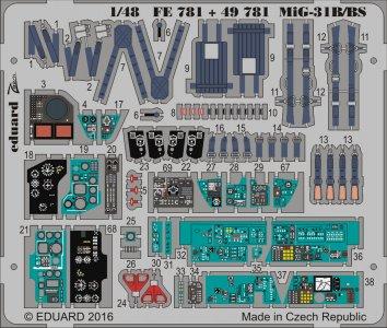 MiG-31B/BS [AMK] · EDU 49781 ·  Eduard · 1:48