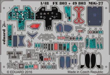 MiG-27 Flogger - Interior [Trumpeter] · EDU 49803 ·  Eduard · 1:48