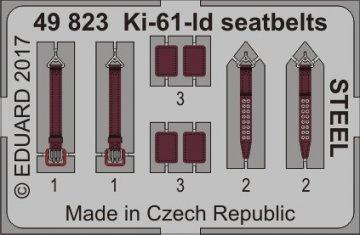 Ki-61-Id Hien (Tony) - Seatbelts STEEL [Tamiya] · EDU 49823 ·  Eduard · 1:48