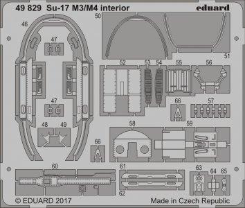Sukhoi Su-17 M3/M4 - Interior [Kitty Hawk] · EDU 49829 ·  Eduard · 1:48