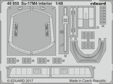 Su-17M4 Fitter-K - Interior [HobbyBoss] · EDU 49855 ·  Eduard · 1:48