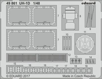 UH-1D Huey [Kitty Hawk] · EDU 49861 ·  Eduard · 1:48