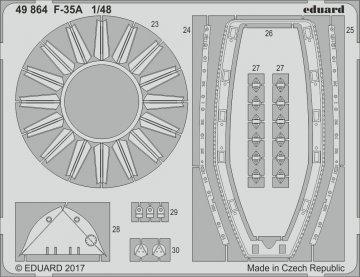 F-35A Lockheed Martin Lightning [Meng Model] · EDU 49864 ·  Eduard · 1:48
