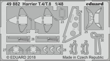 Harrier T.4/T.8 [Kinetic] · EDU 49882 ·  Eduard · 1:48