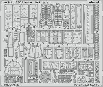 L-39C Albatros [Trumpeter] · EDU 49884 ·  Eduard · 1:48