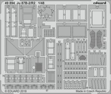 Junkers Ju 87 B-2/R2 [Airfix] · EDU 49894 ·  Eduard · 1:48