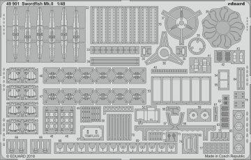Swordfish Mk.II [Tamiya] · EDU 49901 ·  Eduard · 1:48