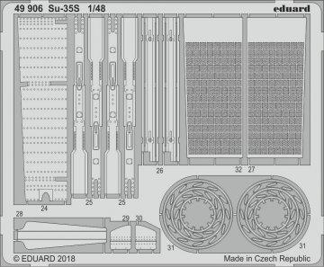SU-35S Flanker E [Great Wall Hobby] · EDU 49906 ·  Eduard · 1:48