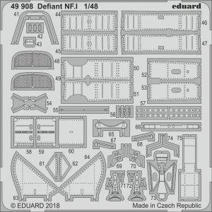 Boulton Paul Defiant NF.1 [Airfix] · EDU 49908 ·  Eduard · 1:48
