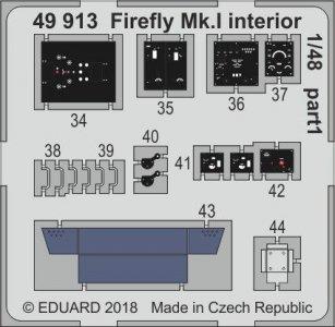 Fairey Firefly Mk.I - Interior [Trumpeter] · EDU 49913 ·  Eduard · 1:48