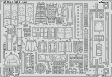 L-39ZA Albatros [Trumpeter] · EDU 49920 ·  Eduard · 1:48